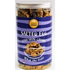 Salted Egg Fish Skin Crisps 咸蛋鱼皮(230g)