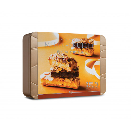 Mille - Feuille Gift Set 杏仁條榛子條禮盒(18Pcs)